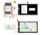 Media player αυτοκινήτου Bluetooth με οθόνη αφής 7'' ιντσών 2 din με χειριστήριο και MIRROR LINK USB