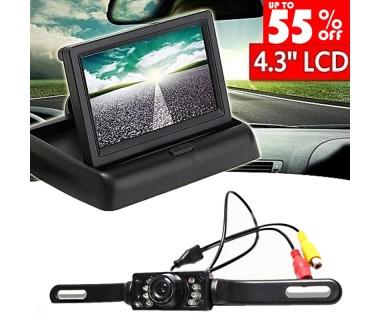 ΣΕΤ Συστημα οπισθοπορείας αυτοκινήτου με κάμερα και οθόνη