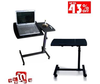 Γραφείο Υπολογιστή Με Ρυθμιζόμενο Ύψος Και Ειδική Αντιολισθητική Βάση