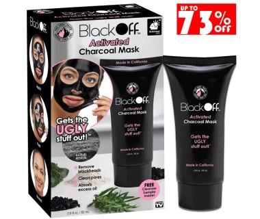 Μαύρη Μάσκα Προσώπου BLACK OFF® 82ml