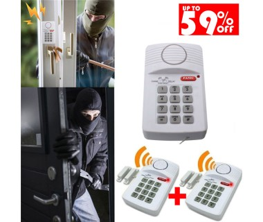 Σύστημα Συναγερμού Secure Pro keypad Alarm System έντασης 110 db - 2 Συστήματα