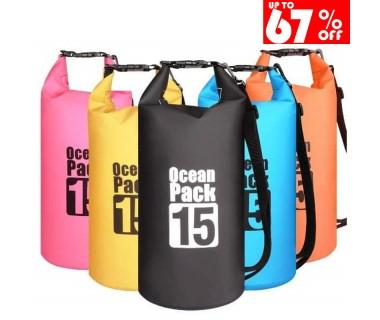 Αδιάβροχη τσάντα παραλίας 15L