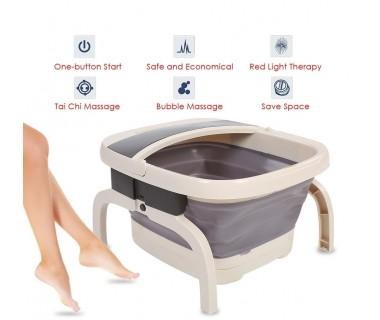 Υδρομασάζ Spa Μασάζ Ποδιών Υπέρυθρης Θέρμανσης Πτυσσόμενο