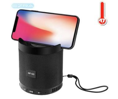 Ασύρματο φορητό ηχείο Bluetooth με οθόνη LCD