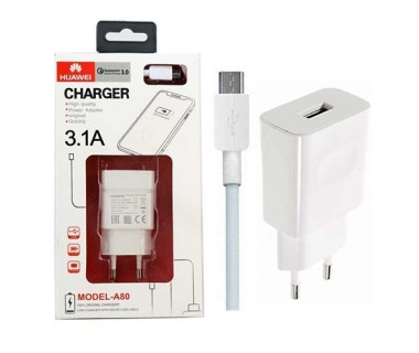 Huawei 3.1A Qualcomm High Quality Charger A-80 - 3000 mAh