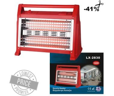 Ηλεκτρική θερμάστρα χαλαζία 1600W με υγραντήρα και βεντιλατέρ