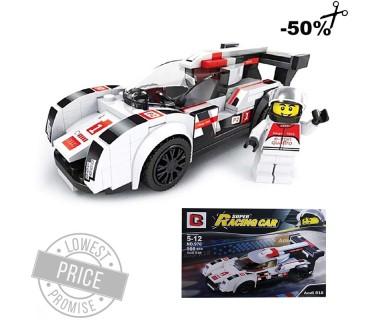 Classic Super Racing 3D Τούβλα Οικοδομικά (166τμχ)