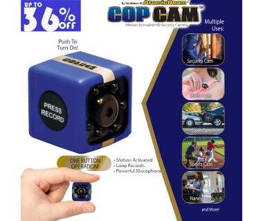 Mini κάμερα ασφαλείας παρακολούθησης 2,4cm Cop Cam