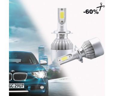 Φώτα Αυτοκινήτου LED Kit H4 Η7 6000Κ
