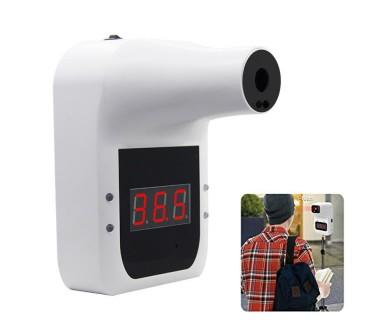 Επιτοίχιο Ψηφιακό Θερμόμετρο Υπερήθρων AI Μετώπου Χωρίς Επαφή με Οθόνη GP100