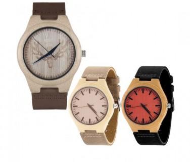 Ξύλινα οικολογικά ρολόγια