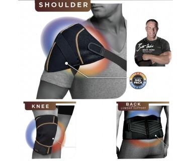 Τέλος στον πόνο μέσης, ώμου και γόνατος με το Copper Fit